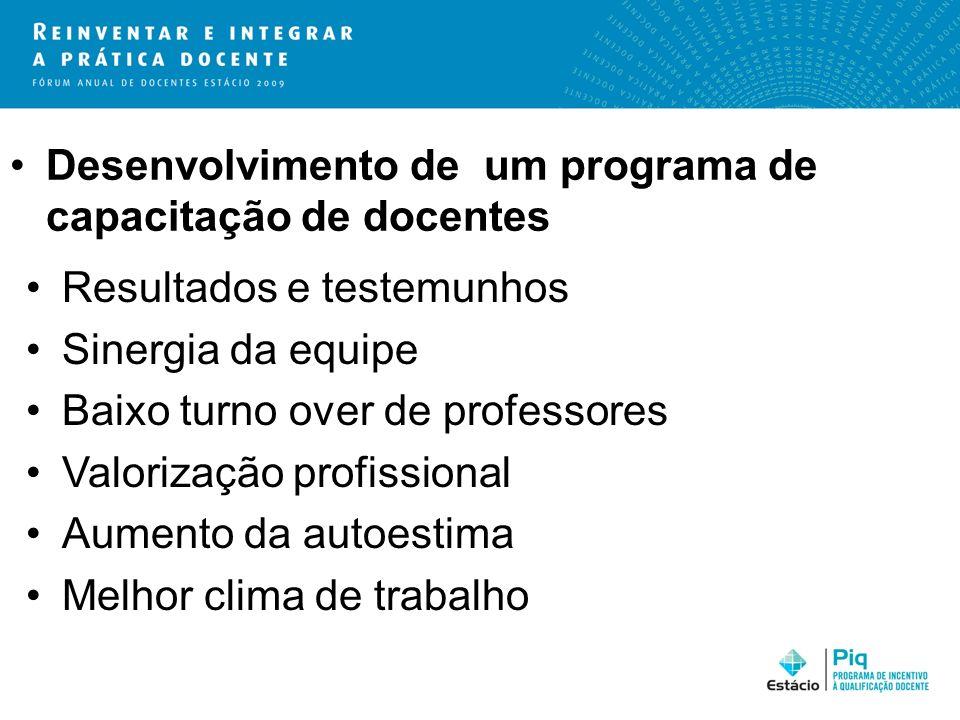 Desenvolvimento de um programa de capacitação de docentes