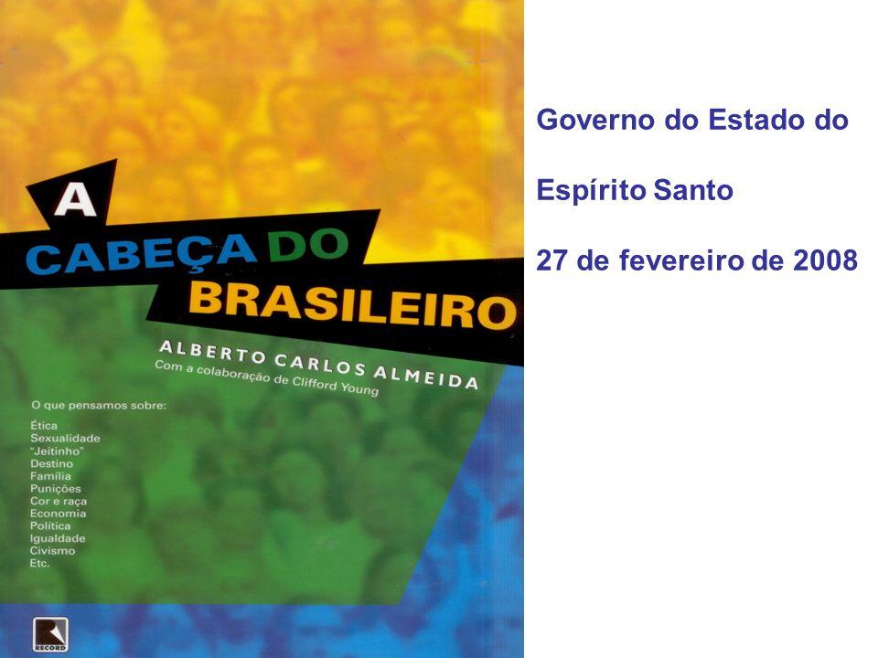 Governo do Estado do Espírito Santo 27 de fevereiro de 2008