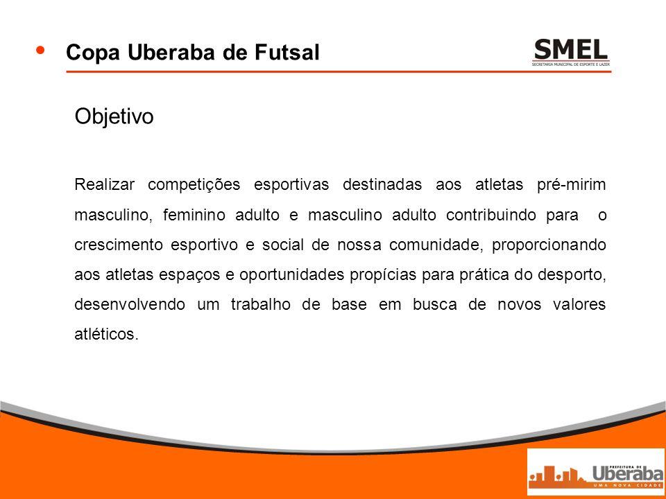 Copa Uberaba de Futsal Objetivo