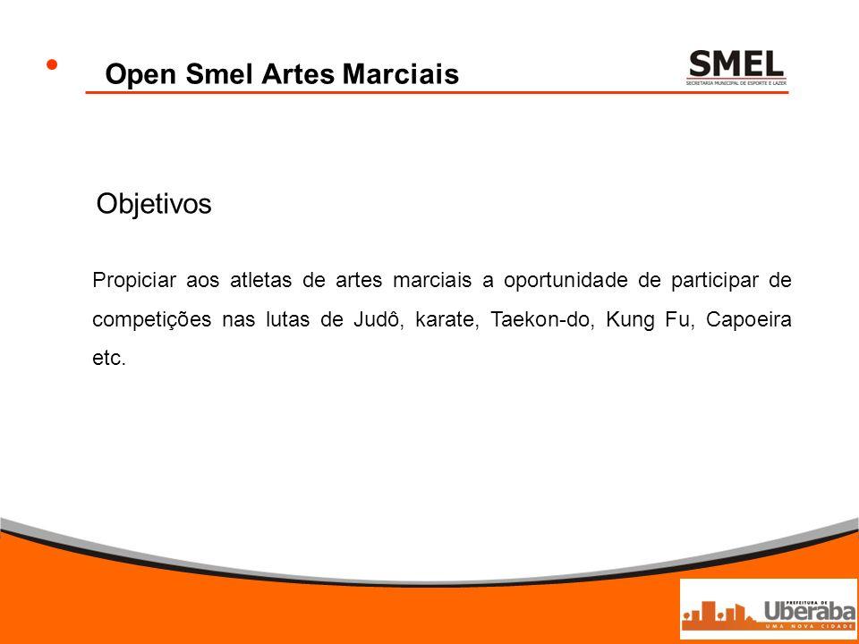 Open Smel Artes Marciais