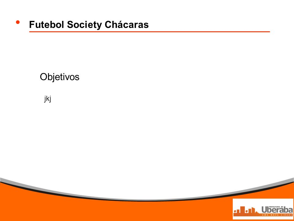 Futebol Society Chácaras