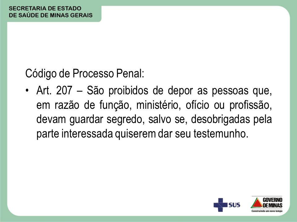 Código de Processo Penal:
