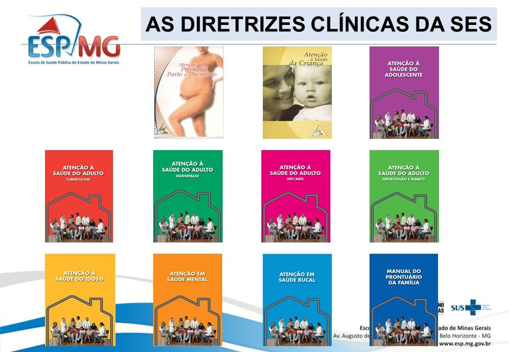 AS DIRETRIZES CLÍNICAS DA SES