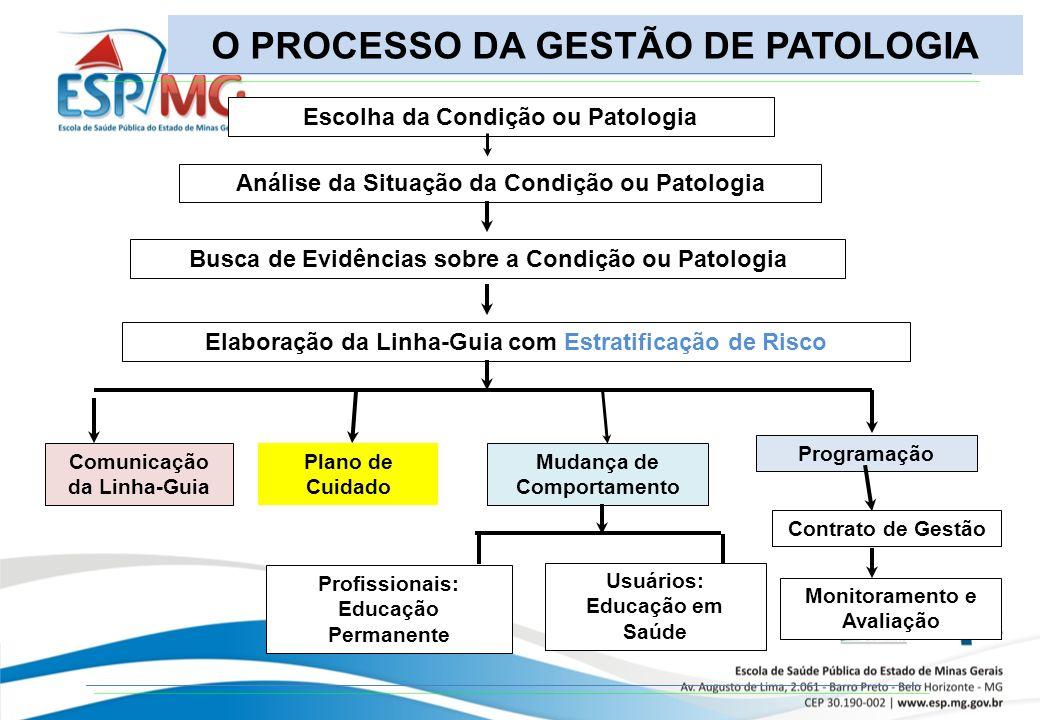 O PROCESSO DA GESTÃO DE PATOLOGIA