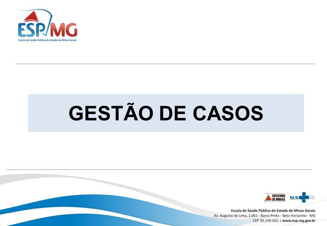 GESTÃO DE CASOS