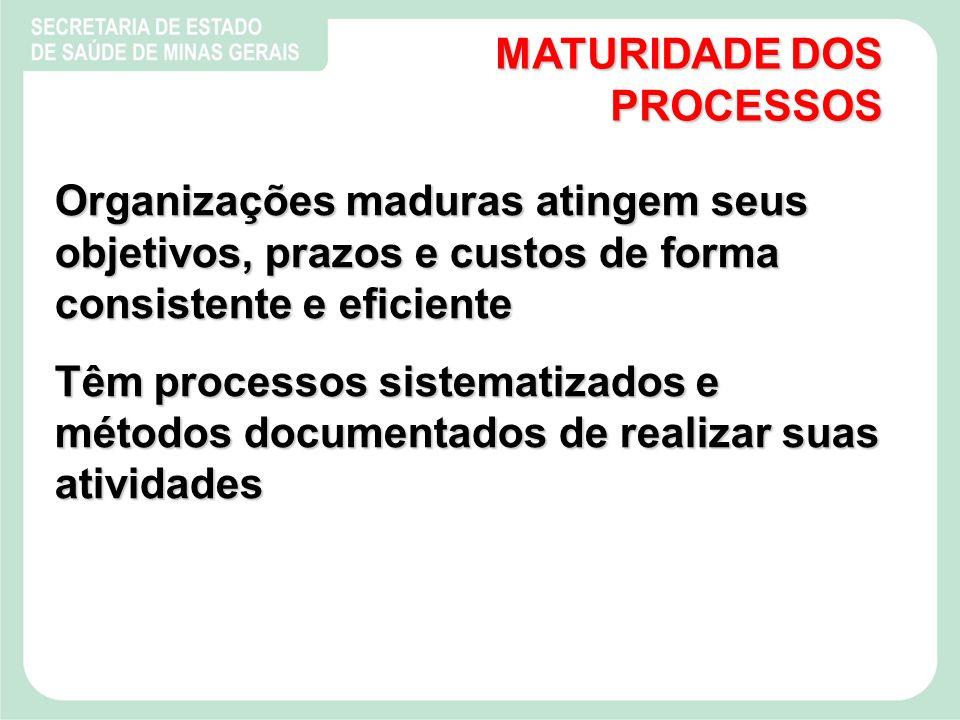 MATURIDADE DOS PROCESSOS