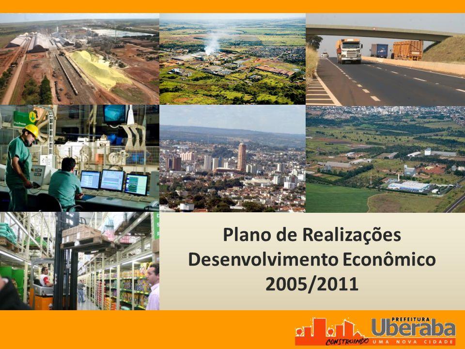Plano de Realizações Desenvolvimento Econômico 2005/2011