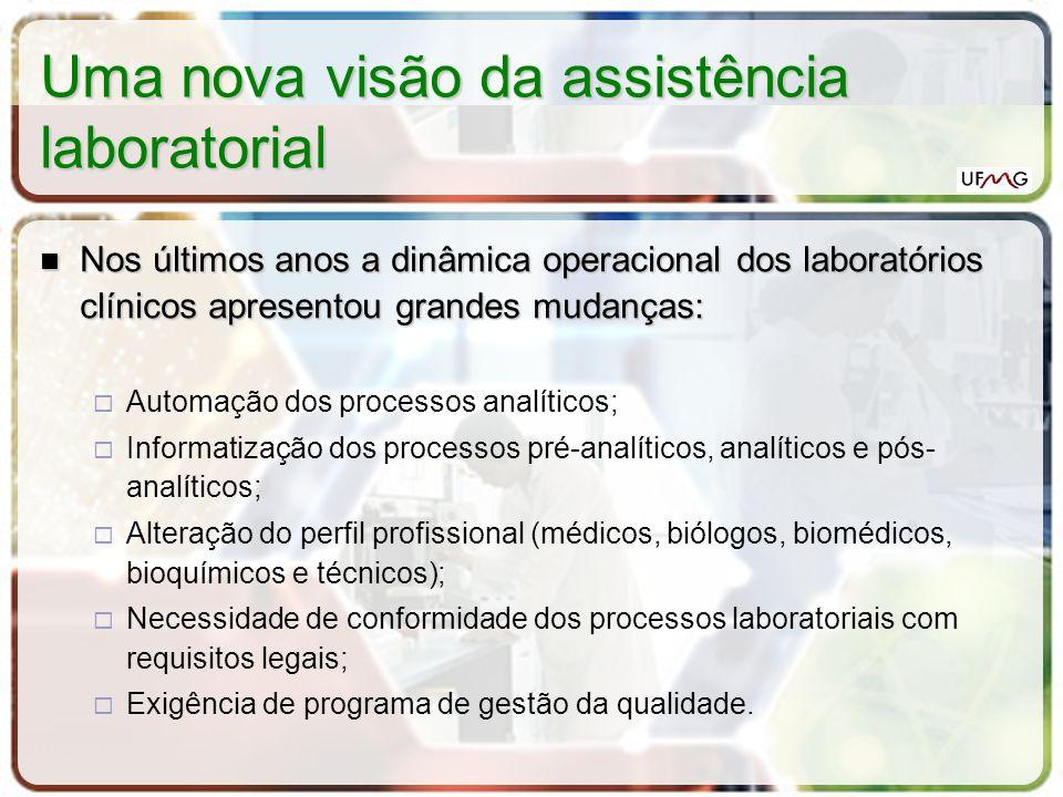Uma nova visão da assistência laboratorial