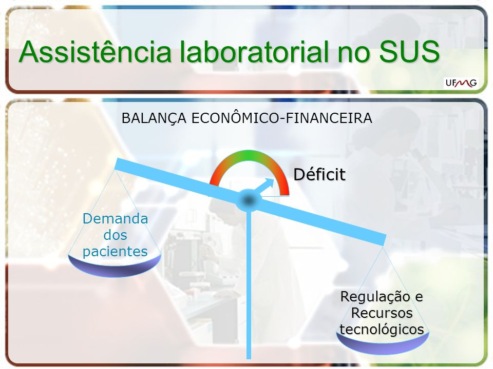 Assistência laboratorial no SUS