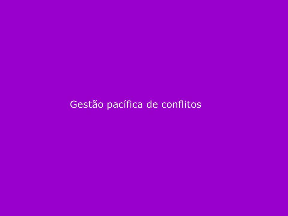 Gestão pacífica de conflitos