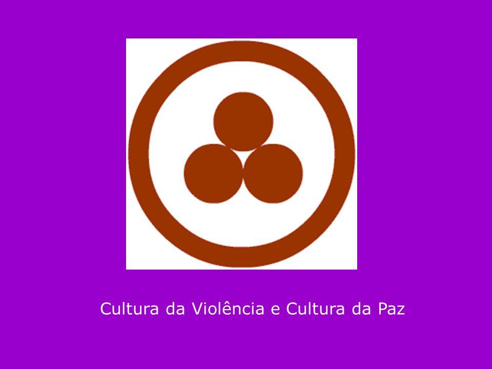 Cultura da Violência e Cultura da Paz