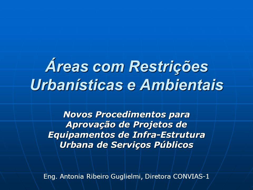 Áreas com Restrições Urbanísticas e Ambientais