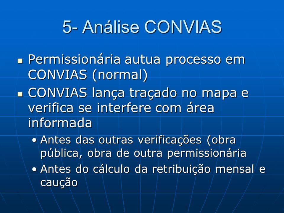 5- Análise CONVIAS Permissionária autua processo em CONVIAS (normal)