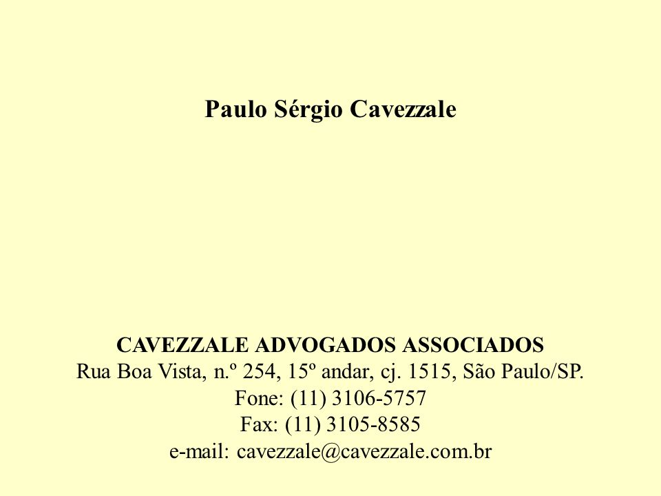 Paulo Sérgio Cavezzale