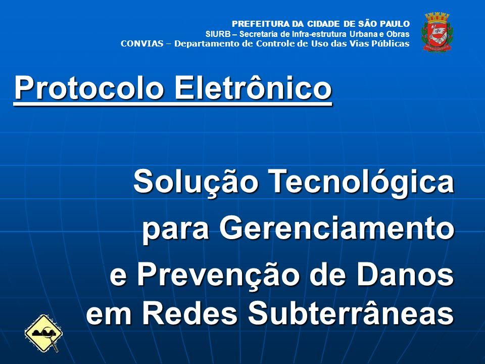 Protocolo Eletrônico Solução Tecnológica. para Gerenciamento.
