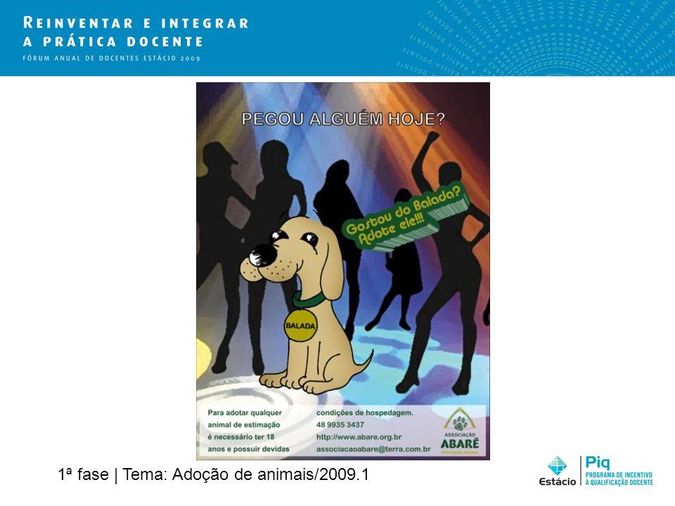 1ª fase | Tema: Adoção de animais/2009.1