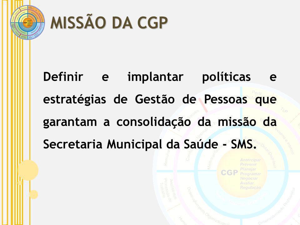 MISSÃO DA CGP