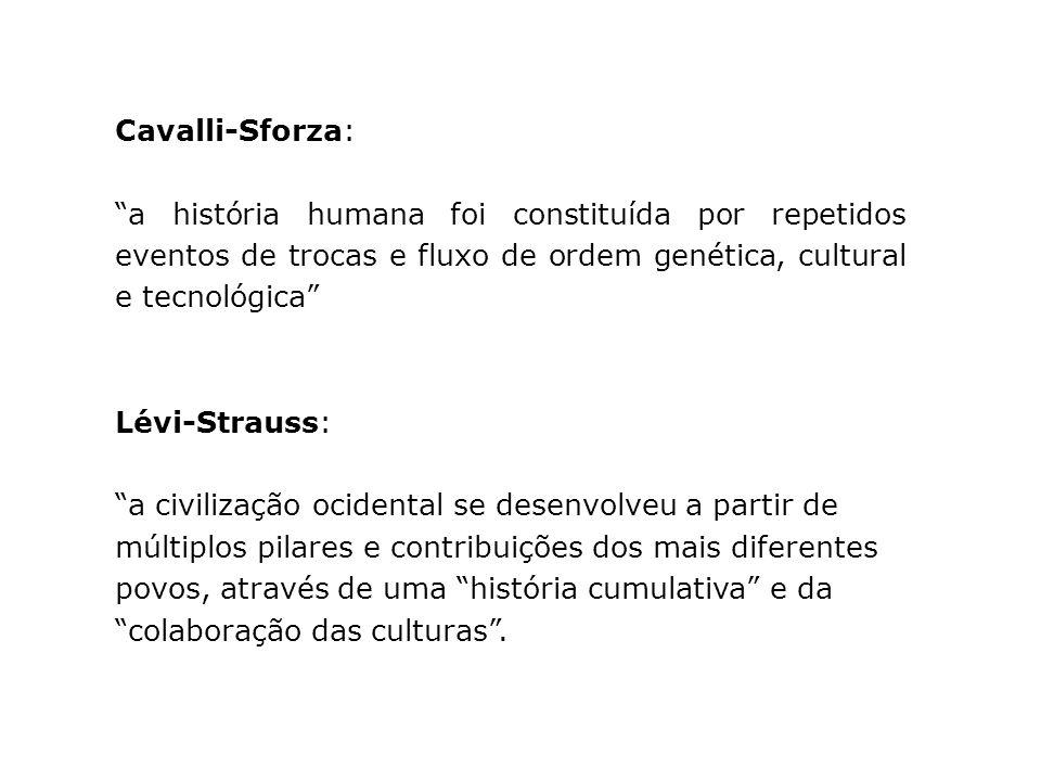 Cavalli-Sforza: a história humana foi constituída por repetidos eventos de trocas e fluxo de ordem genética, cultural e tecnológica