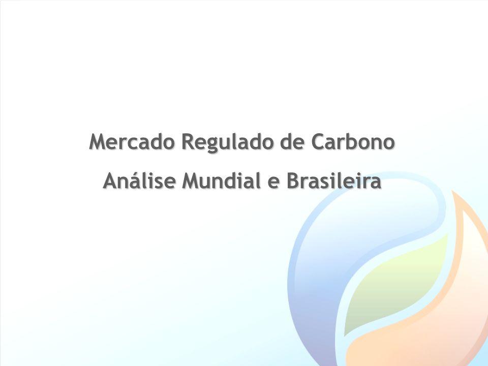 Mercado Regulado de Carbono Análise Mundial e Brasileira