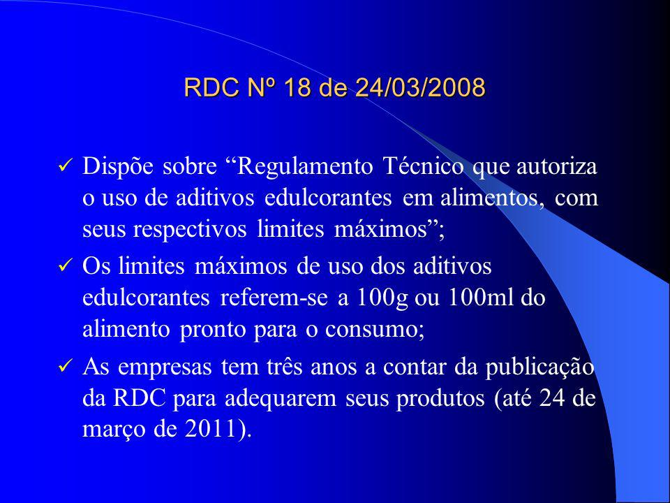 RDC Nº 18 de 24/03/2008
