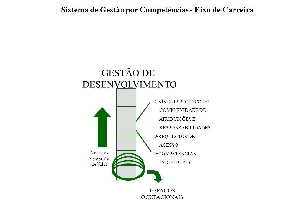 Sistema de Gestão por Competências - Eixo de Carreira