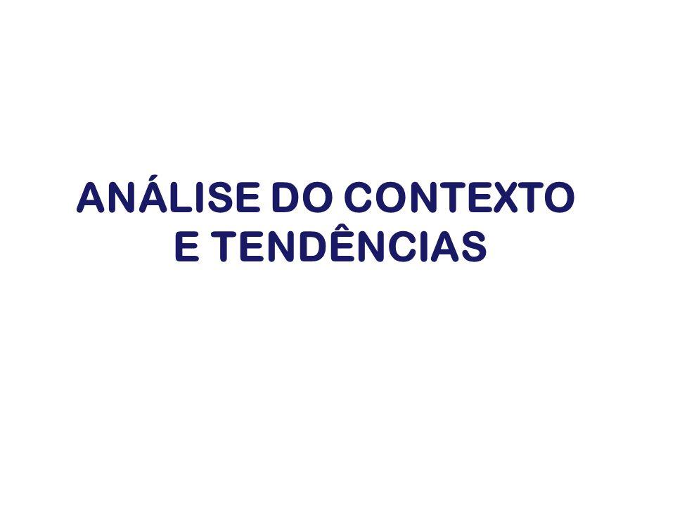 ANÁLISE DO CONTEXTO E TENDÊNCIAS