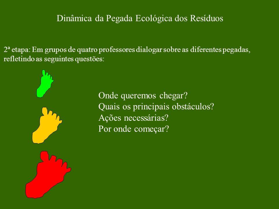 Dinâmica da Pegada Ecológica dos Resíduos