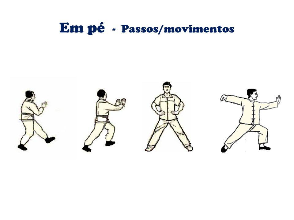 Em pé - Passos/movimentos