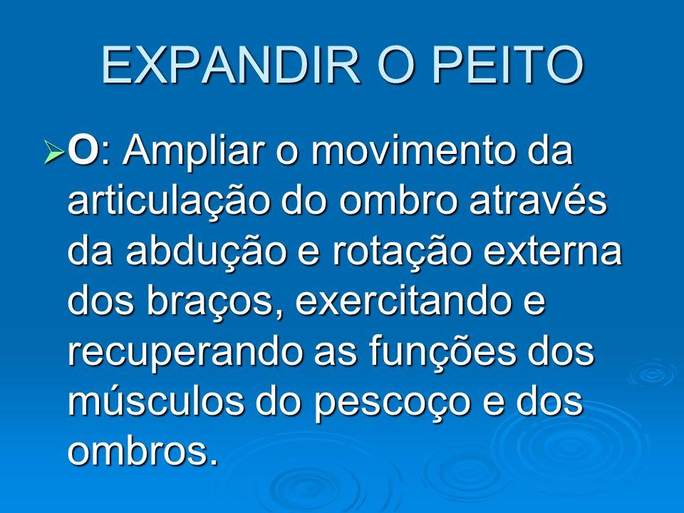 EXPANDIR O PEITO