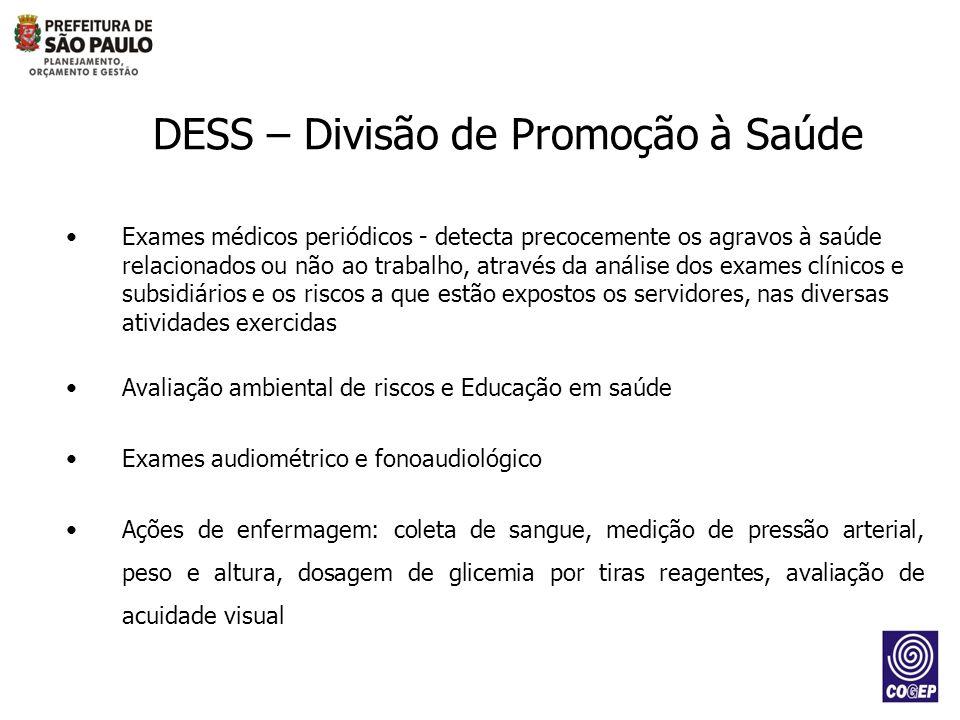 DESS – Divisão de Promoção à Saúde
