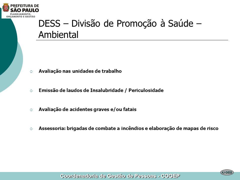 DESS – Divisão de Promoção à Saúde – Ambiental
