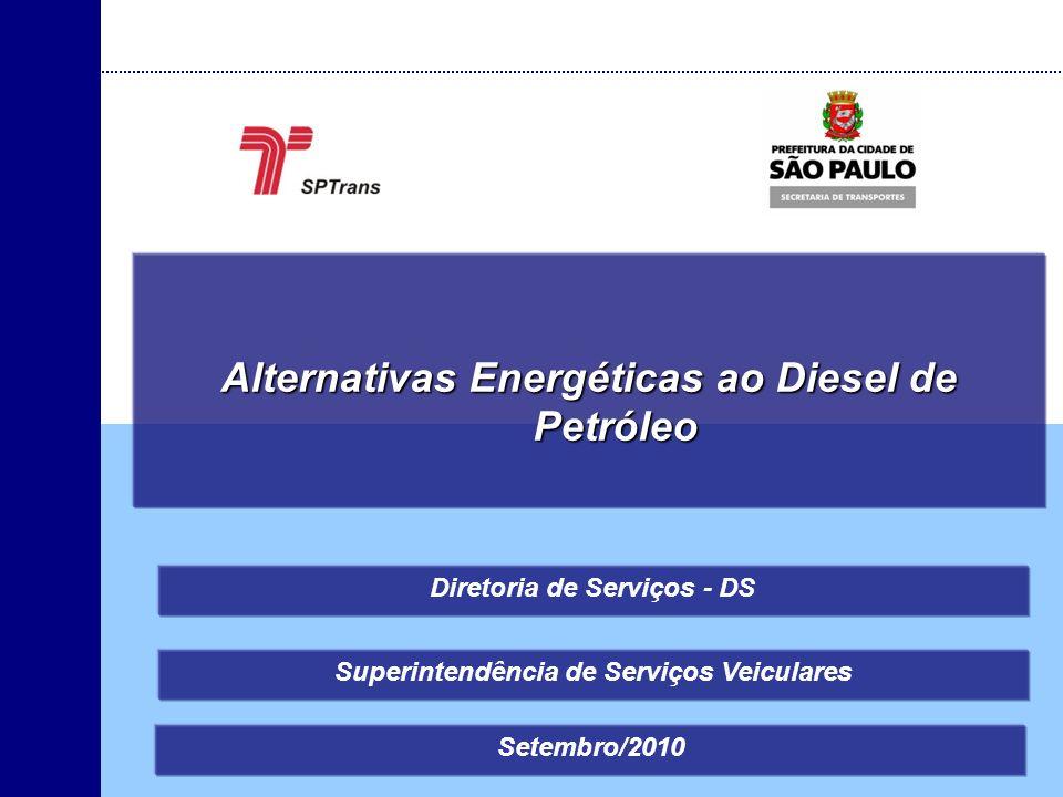 Alternativas Energéticas ao Diesel de Petróleo