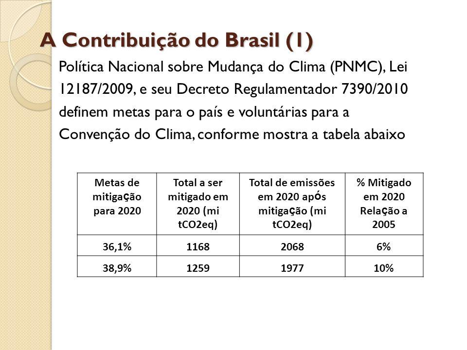 A Contribuição do Brasil (1)