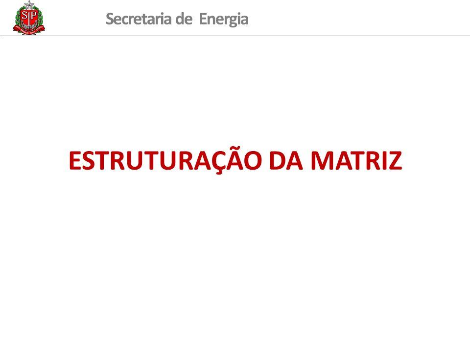 ESTRUTURAÇÃO DA MATRIZ