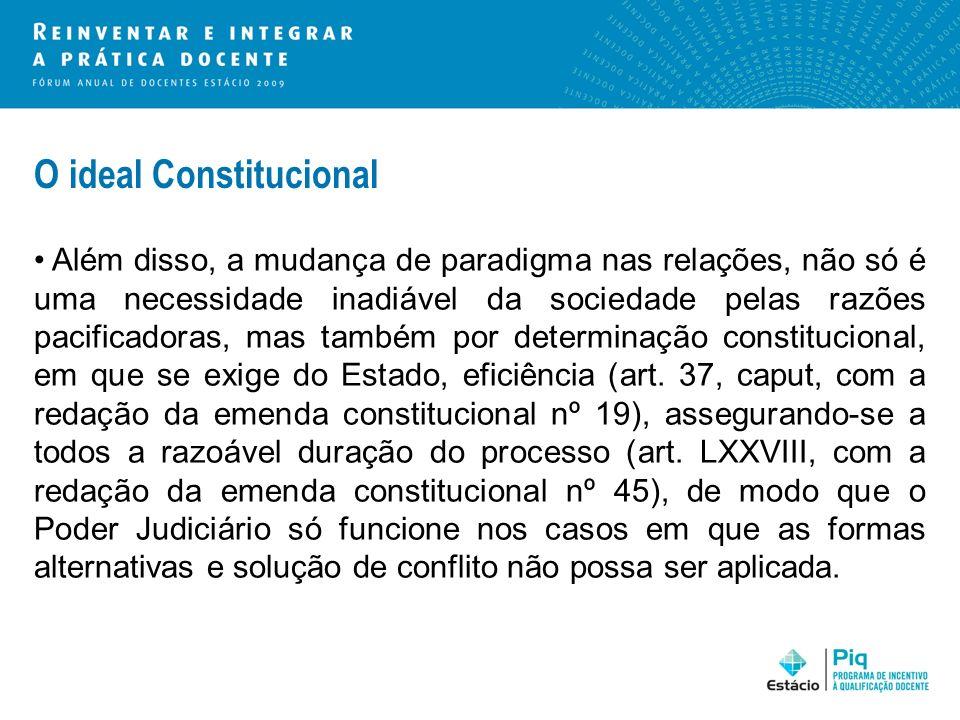 O ideal Constitucional