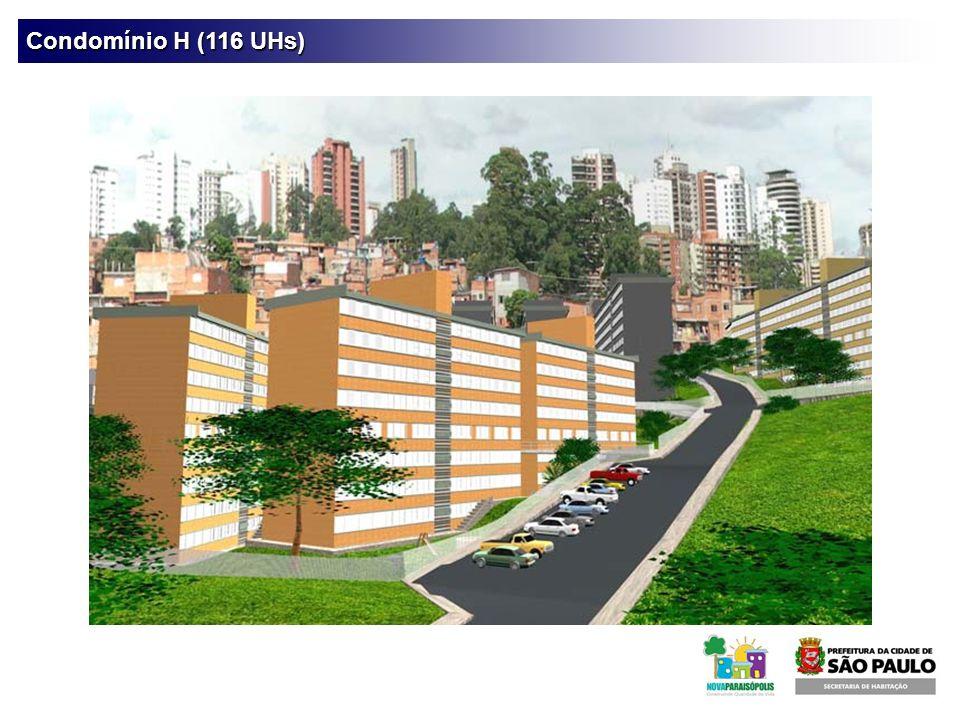 Condomínio H (116 UHs)