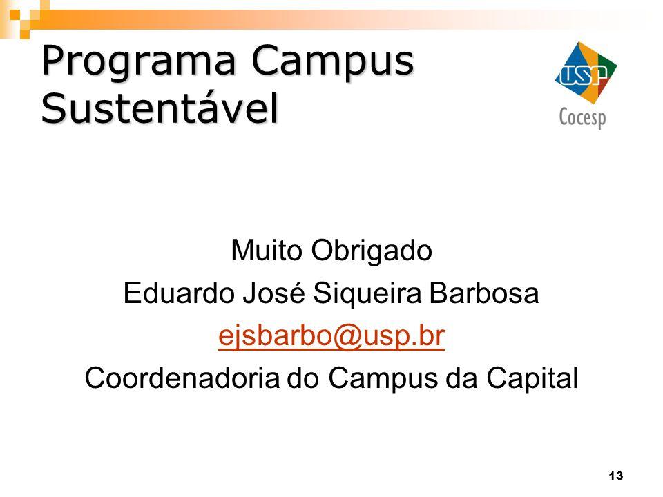 Programa Campus Sustentável