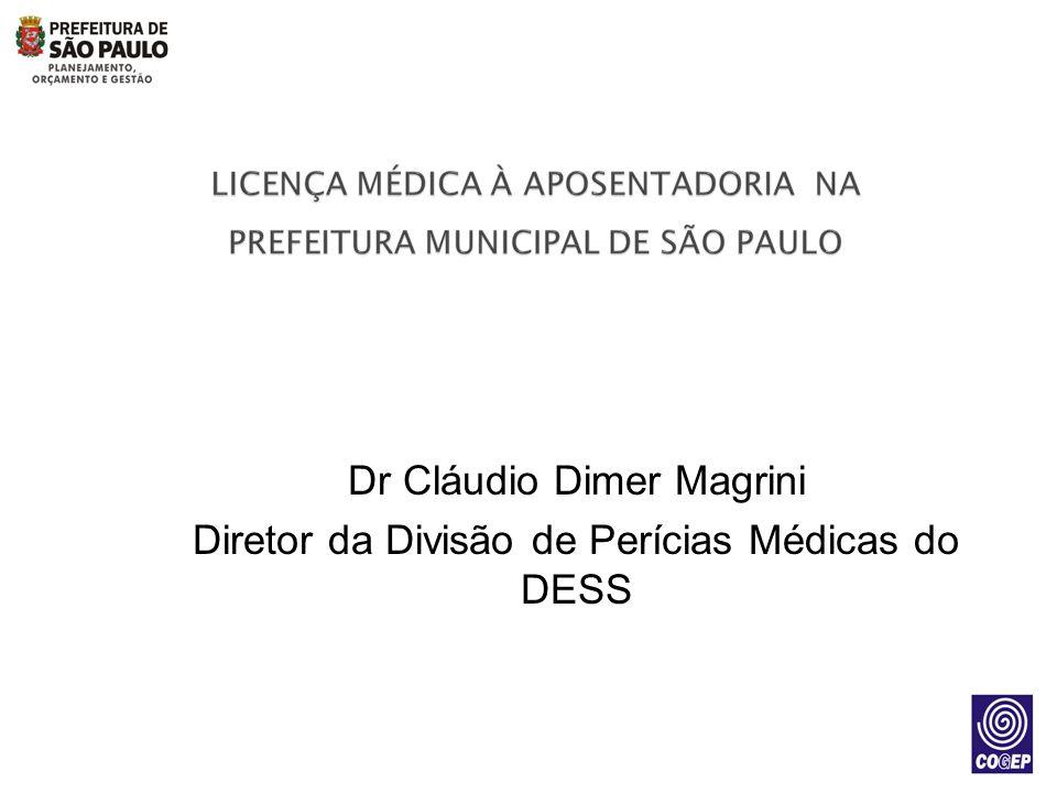 Dr Cláudio Dimer Magrini
