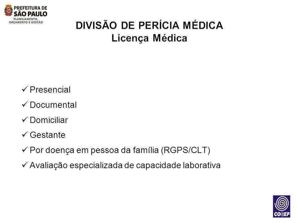 DIVISÃO DE PERÍCIA MÉDICA Licença Médica