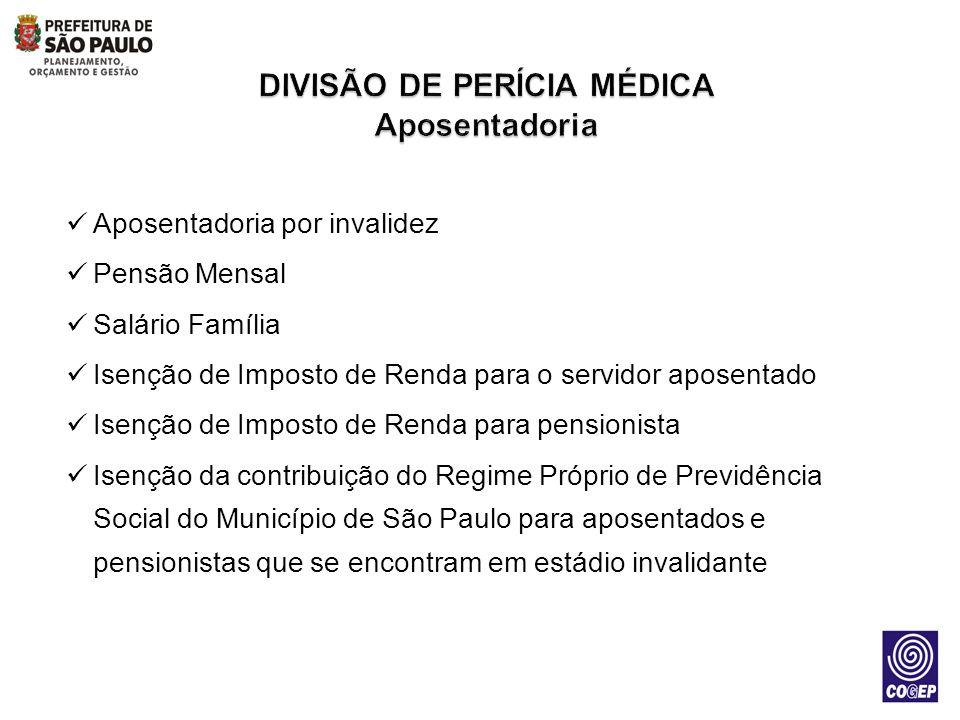 DIVISÃO DE PERÍCIA MÉDICA Aposentadoria