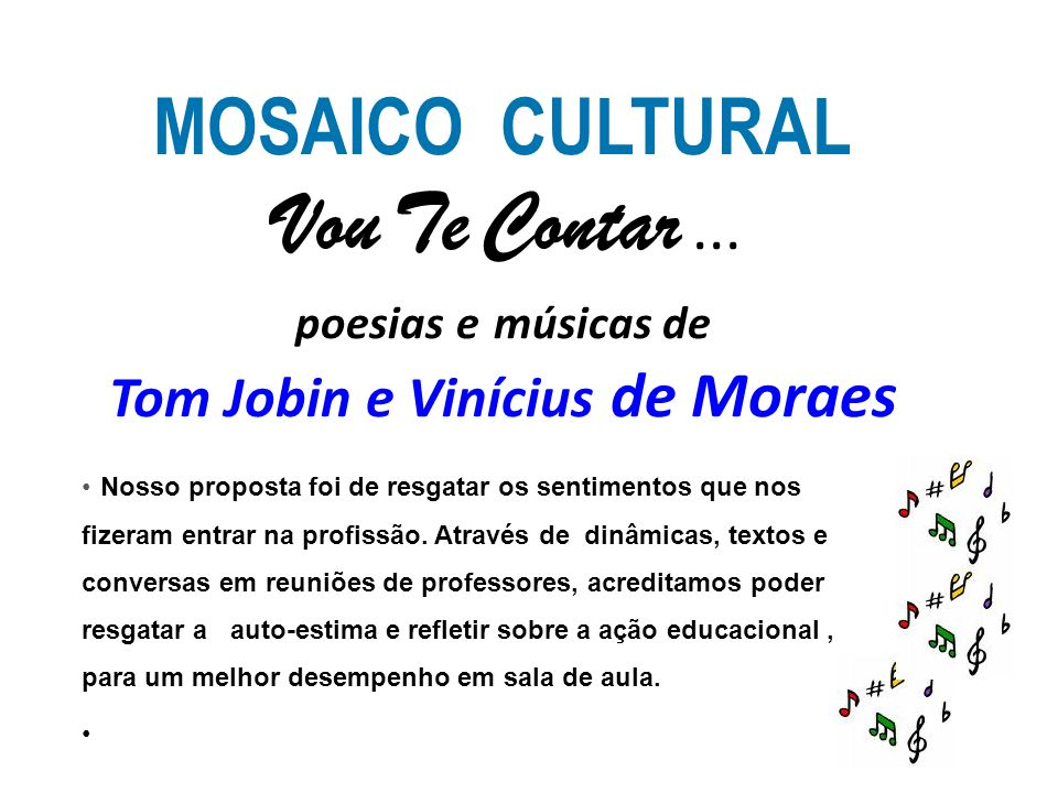 Muito MOSAICO CULTURAL Curso de Pedagogia - Campus Millor Fernandes - RJ  JF91