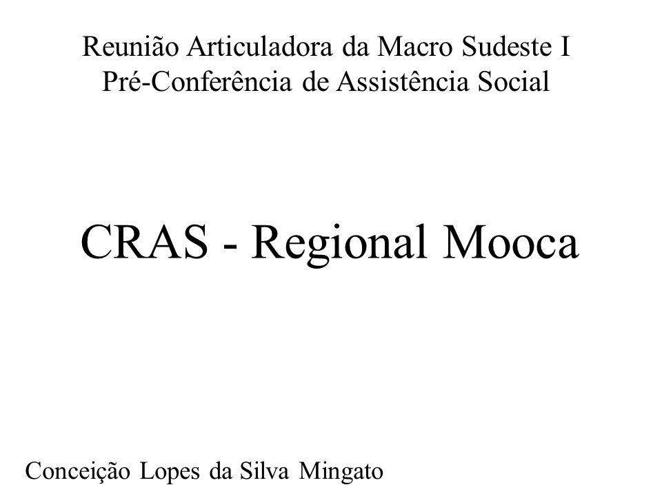 Reunião Articuladora da Macro Sudeste I Pré-Conferência de Assistência Social