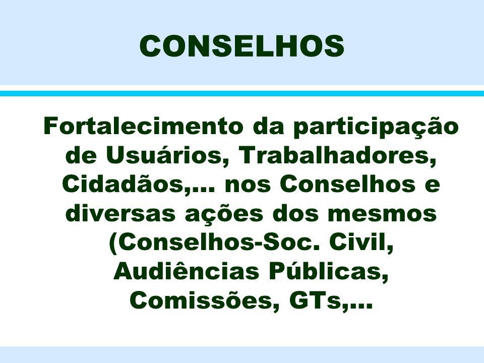 CONSELHOS