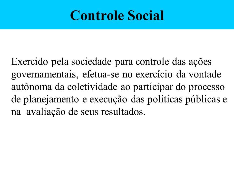 Controle Social