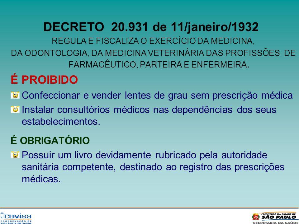 REGULA E FISCALIZA O EXERCÍCIO DA MEDICINA,