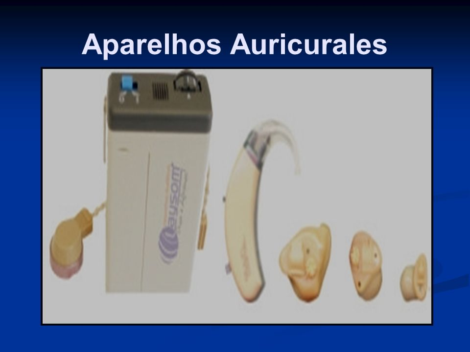 Aparelhos Auricurales