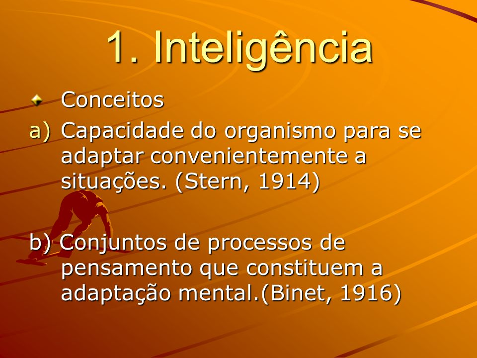 1. Inteligência Conceitos