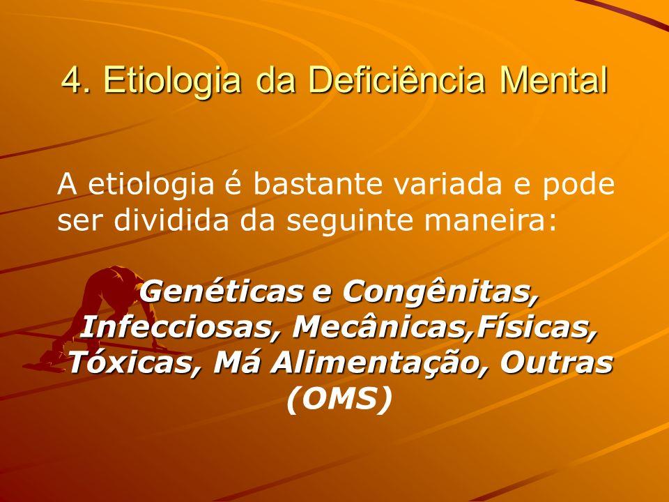4. Etiologia da Deficiência Mental