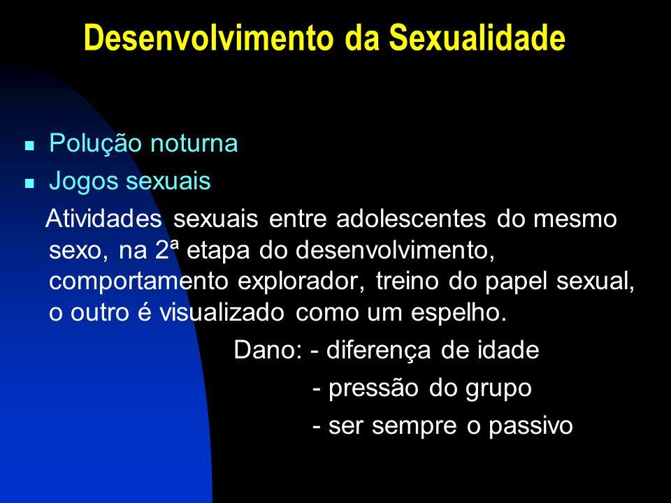 Desenvolvimento da Sexualidade