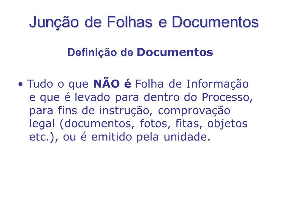 Definição de Documentos